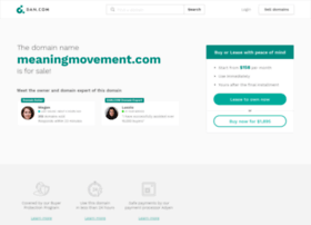 meaningmovement.com