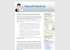 measureproductivity.com