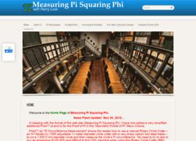 measuringpisquaringphi.com
