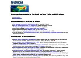 measuringuserexperience.com