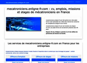 mecatroniciens.enligne-fr.com