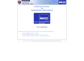 meccanica.unige.it