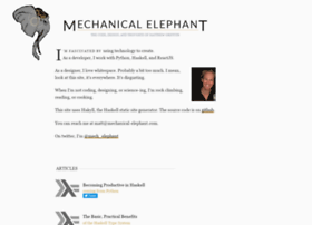 mechanical-elephant.com