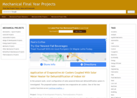 mechanical.final-year-projects.in