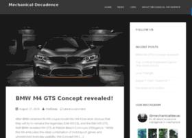 mechanicaldecadence.com