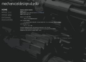 mechanicaldesign.iit.edu