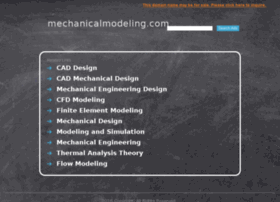 mechanicalmodeling.com