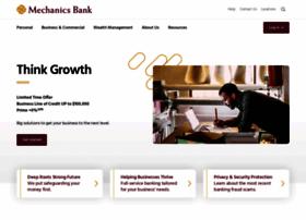 mechanicsbank.com