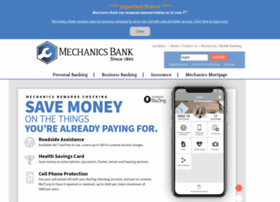 mechanicsbankms.com