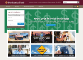 mechanicsbankonline.com