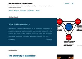 Mechatronics Engineer Cv Websites And Posts On Mechatronics Engineer