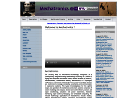 mechatronics.poly.edu