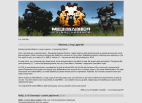 mechlivinglegends.net