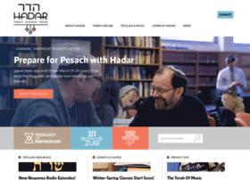 mechonhadar.org