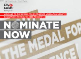 medals.cityandguilds.com