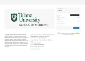 medapp.tulane.edu