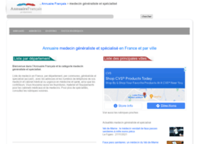 medecin.annuairefrancais.fr