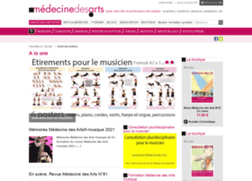 medecine-des-arts.com