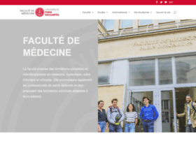 medecine.parisdescartes.fr