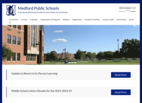 medfordpublicschools.org