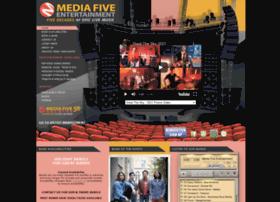 mediafiveent.com