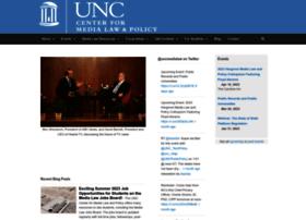 medialaw.unc.edu