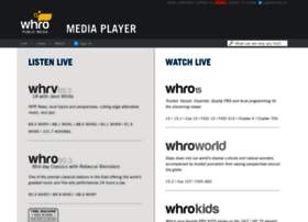 mediaplayer.whro.org