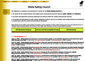 mediaratingcouncil.org