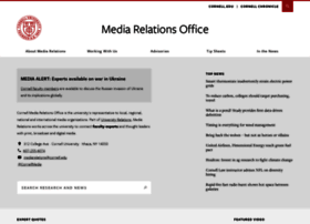 mediarelations.cornell.edu