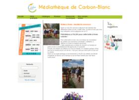 mediatheque-carbon-blanc.fr