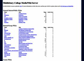 mediawiki.middlebury.edu