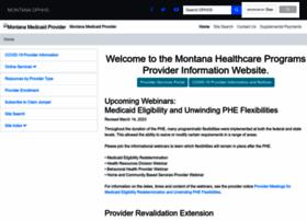 medicaidprovider.mt.gov
