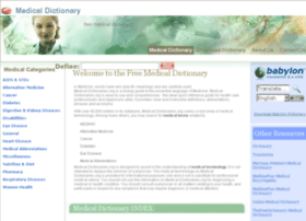 medical-dictionaries.org