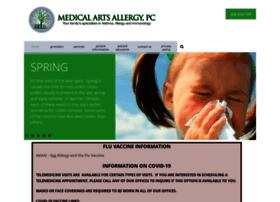 medicalartsallergy.com