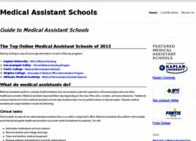 medicalassistantschools.org