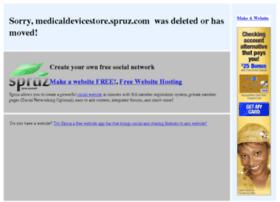 medicaldevicestore.spruz.com