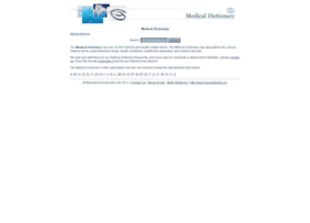 medicaldictionaryweb.com