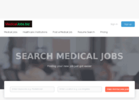 medicaljobs.biz