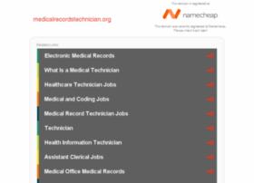 medicalrecordstechnician.org