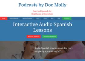 medicalspanishpodcast.com