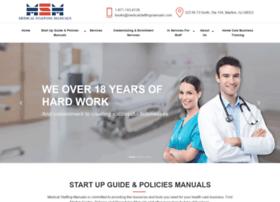 medicalstaffingmanuals.com