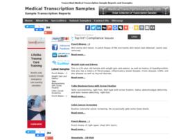 medicaltranscriptionsamples.com