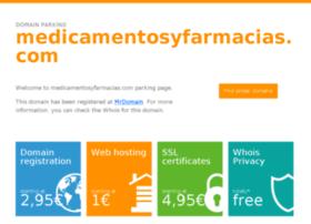 medicamentosyfarmacias.com