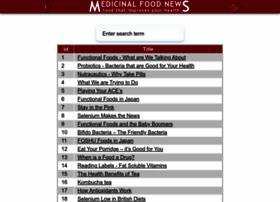 medicinalfoodnews.com