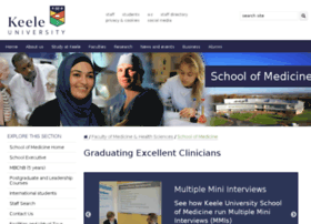 medicine2.keele.ac.uk