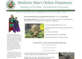 medicinemansdispensary.com