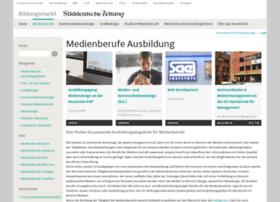medienberufe.sueddeutsche.de
