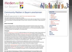 medienvielfalt-bayern.de
