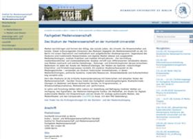 medienwissenschaft.hu-berlin.de