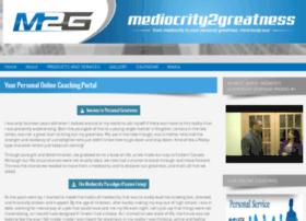 mediocrity2greatness.com